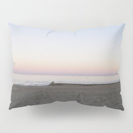 Winter Sunset By The Sea  Pillow Sham