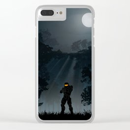 Halo | Warriors Landscapes Serries Clear iPhone Case