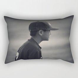 Baseball Ready Rectangular Pillow