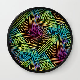 Specular Reflection Wall Clock