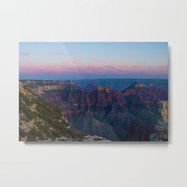 The Canyon Mountains (Color) Metal Print