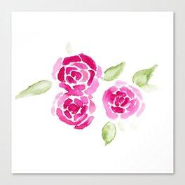 Cheerful Rose Canvas Print