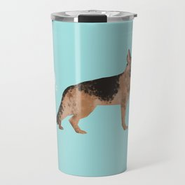 german shepherd funny farting dog breed gifts Travel Mug