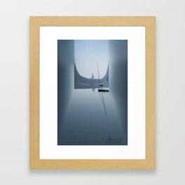 paysage Framed Art Print