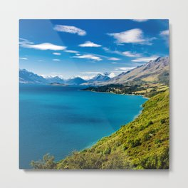 New Zealand South Island  Metal Print