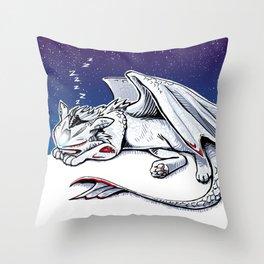 mv agusta f4 dragon Throw Pillow