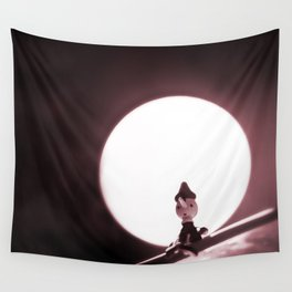 Scary Night Wall Tapestry