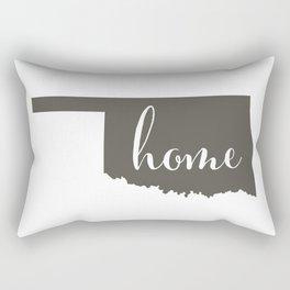 Oklahoma is Home Rectangular Pillow
