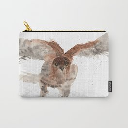 Hawk on the Hunt Carry-All Pouch
