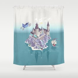 Hogwarts series (year 4: the Goblet of Fire) Shower Curtain