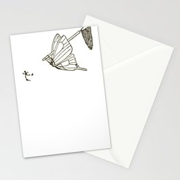 Butterfly Metamorphosis Stationery Cards