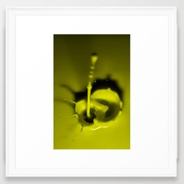 A Drop of Yellow Framed Art Print