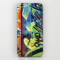 Graffiti, Paris iPhone & iPod Skin