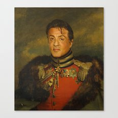 Sylvester Stallone - replaceface Canvas Print