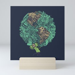 Prince Atlas Mini Art Print
