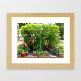 Organic Gardening 2 Framed Art Print