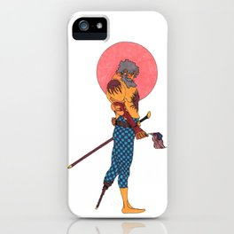 Wounded Nation iPhone Case