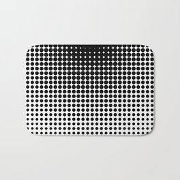 Black Dots Bath Mat