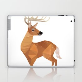 Low Poly White-tailed Deer Laptop & iPad Skin