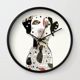 Dalmatian dog  Wall Clock
