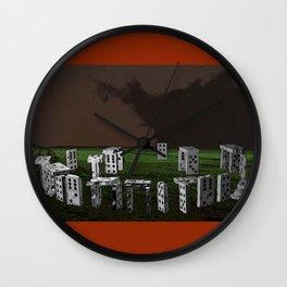 Stonedhenge Wall Clock