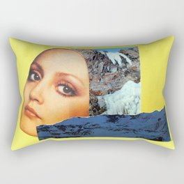 A Bird in Parallax Rectangular Pillow
