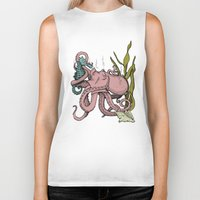 my little pony Biker Tanks featuring My Little Pony (Color) by Seth Spriggs