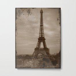 Paris Eiffel Tower II Metal Print