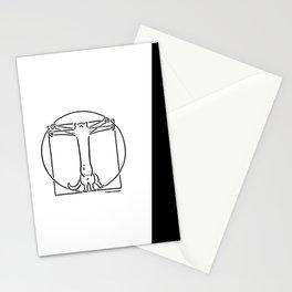Vitruviancat Stationery Cards