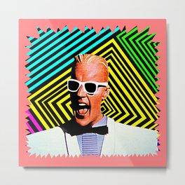 MAX HEADROOM  |  80's Inspiration Metal Print
