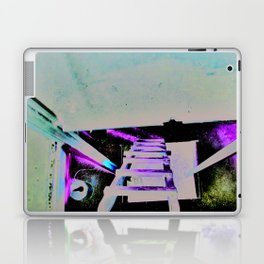ladder going up or down Laptop & iPad Skin
