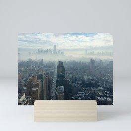 More Fog Less Smog Mini Art Print