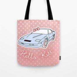 Hello Kitt Tote Bag