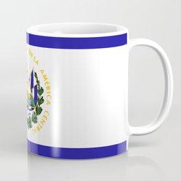 El Salvador flag emblem Coffee Mug