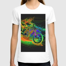Race to the Finish! - Motocross Racer T-shirt