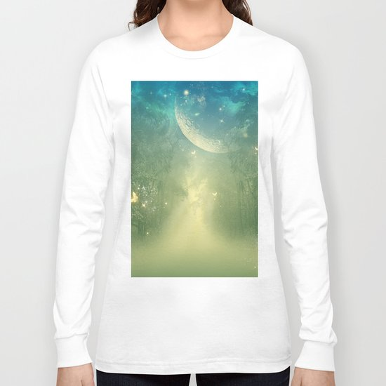 Mystical forest Long Sleeve T-shirt