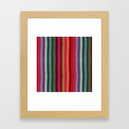 Get Knitted Framed Art Print