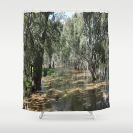 Light & Shadows Shower Curtain