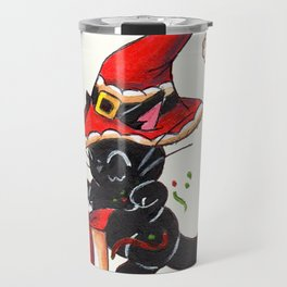 Santa Sorcery Travel Mug