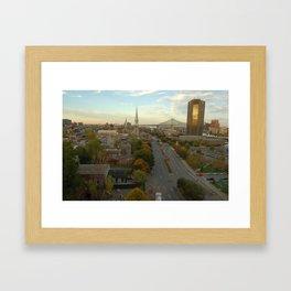 Montreal in Fall Framed Art Print