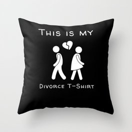 This is my T-Shirt Throw Pillow