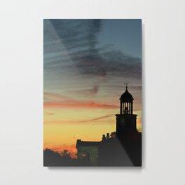 Vicksburg Sunset Metal Print