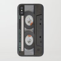 tape iPhone & iPod Cases featuring Tape by Cloz000