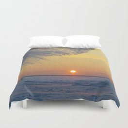 climatic phenomenon Duvet Cover