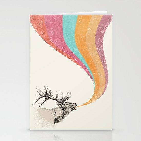 Elk Song Stationery Cards