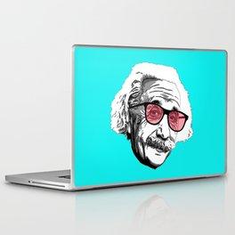 Einstein in summer Laptop & iPad Skin