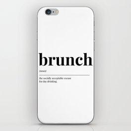 Brunch iPhone Skin