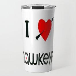 I heart you Travel Mug