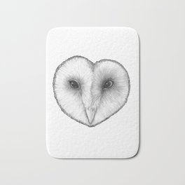 Barn Owl Bath Mat