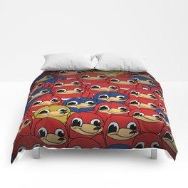 Ugandan Knuckles Comforters